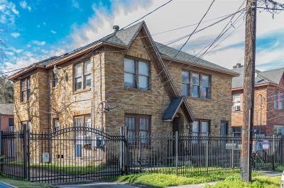 Houston Multi Family Home For Sale: 4320 Jack Street