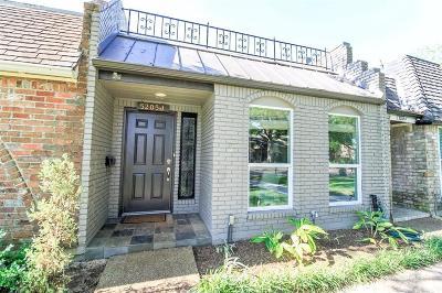 Bellaire Condo/Townhouse For Sale: 5205 Palmetto Street