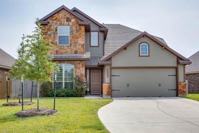 College Station Single Family Home For Sale: 4209 Quartz Creek Court