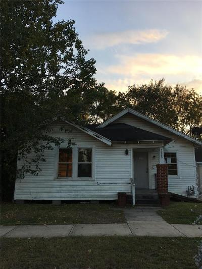 Houston Single Family Home For Sale: 2820 Holman Street
