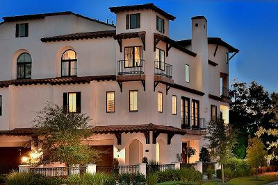 The Woodlands Condo/Townhouse For Sale: 2 Secluded Trail