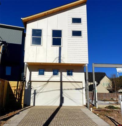 Houston Single Family Home For Sale: 4011 McKinney