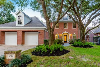 Sugar Land Single Family Home For Sale: 4514 Golden Pond Court