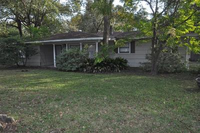 Houston Single Family Home For Sale: 3709 Brookwoods Drive