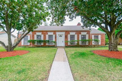 Houston TX Single Family Home For Sale: $260,000