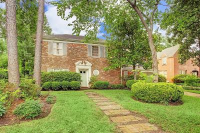 Houston Single Family Home For Sale: 3734 Charleston Street