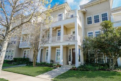 The Woodlands TX Condo/Townhouse For Sale: $575,000
