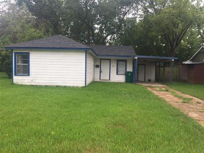 Pasadena Single Family Home For Sale: 1311 Tupelo Avenue