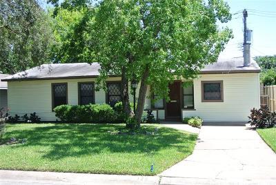 Galveston Single Family Home For Sale: 125 Barracuda Avenue