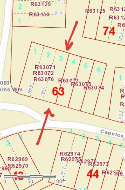 Conroe Residential Lots & Land For Sale: ~294 Capetown Street