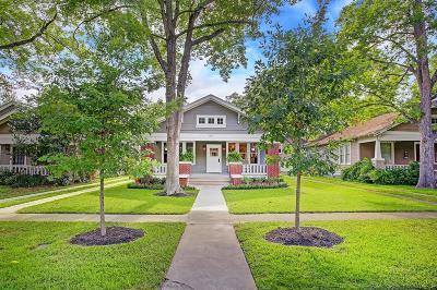 Houston Single Family Home For Sale: 1135 Harvard Street