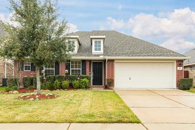 Alvin Single Family Home For Sale: 318 Lake Line Drive