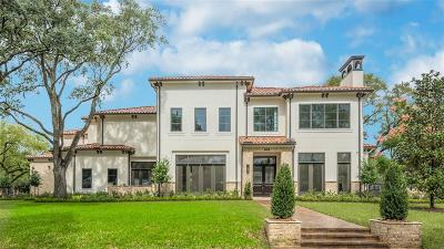 Houston Single Family Home For Sale: 5930 Green Tree Road