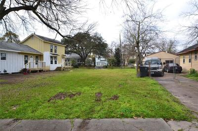 Houston Residential Lots & Land For Sale: 4941 Polk Street