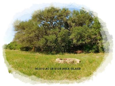 Rock Island TX Farm & Ranch For Sale: $357,000