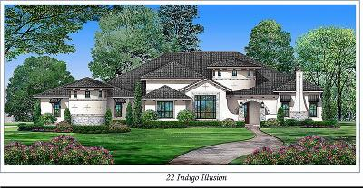 Tomball Single Family Home For Sale: 22 Indigo Illusion
