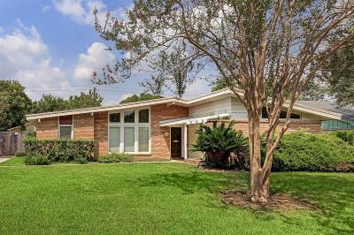 Houston Single Family Home For Sale: 5614 Bankside Drive