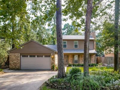 The Woodlands Single Family Home For Sale: 5 Hickory Oak Drive