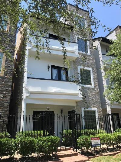 Houston Single Family Home For Sale: 1525 NE Rosewood Street NE