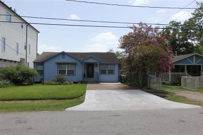 Houston Single Family Home For Sale: 1118 W 21st Street