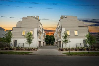 Houston Single Family Home For Sale: 1512 Weber Street #A