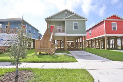 Galveston Single Family Home For Sale: 3421 Winnie