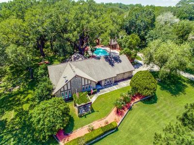 Galveston County Single Family Home For Sale: 15115 Primrose Ln