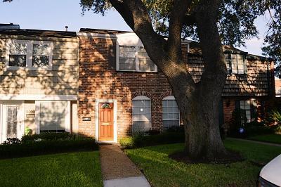 Houston Condo/Townhouse For Sale: 2509 Briar Ridge Drive #52