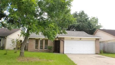 Houston TX Single Family Home For Sale: $154,000