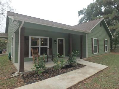 Montgomery Single Family Home For Sale: 5331 Lazy Lane