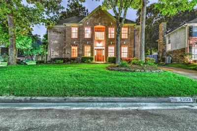 Houston Single Family Home For Sale: 5203 Heathervale Court Court