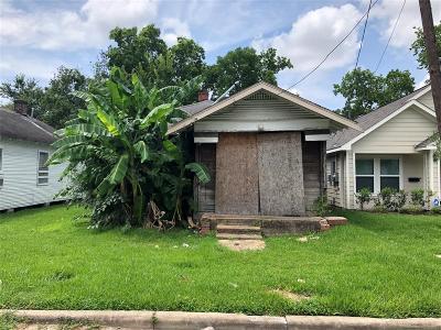 Houston Single Family Home For Sale: 3416 Hadley Street