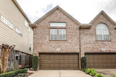 Houston Single Family Home For Sale: 3309 W Lamar Street #A