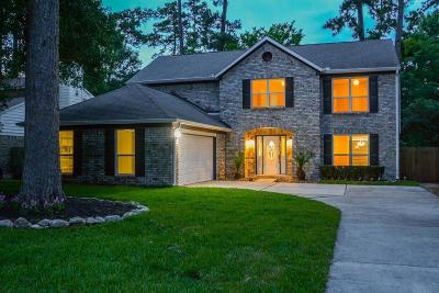 The Woodlands Single Family Home For Sale: 153 N Rainbow Ridge Circle