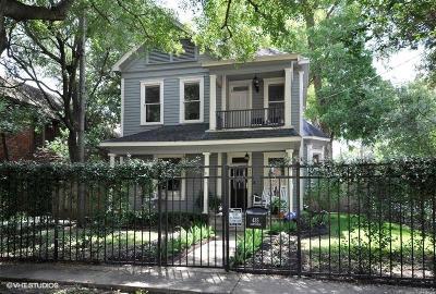 Houston Single Family Home For Sale: 435 Hawthorne Street