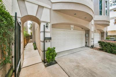 Houston Condo/Townhouse For Sale: 212 Detering Street