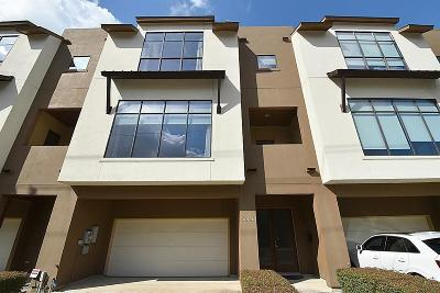 Rice Military Condo/Townhouse For Sale: 5606 Blossom Street