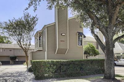 Houston Condo/Townhouse For Sale: 1211 Jackson #L