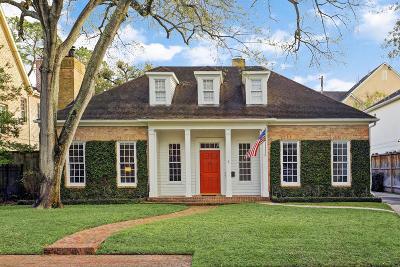 Houston Single Family Home For Sale: 5 Hackberry Lane