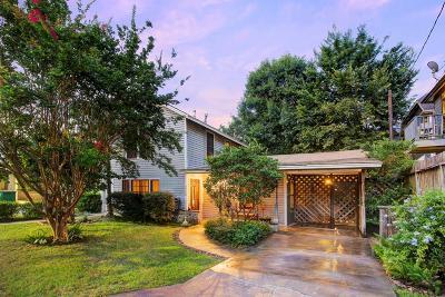 Houston Single Family Home For Sale: 2506 Arlington Street