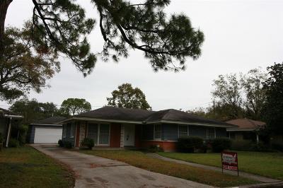Houston Single Family Home For Sale: 3406 Gannett