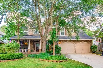 The Woodlands Single Family Home For Sale: 114 Clovergate Circle