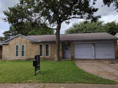 Houston Single Family Home For Sale: 918 Beachcomber Lane