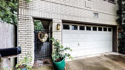 Houston Condo/Townhouse For Sale: 1756 Maryland Street