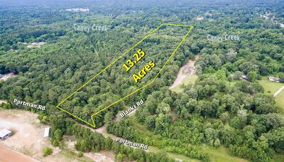 Conroe Residential Lots & Land For Sale: Portman Road