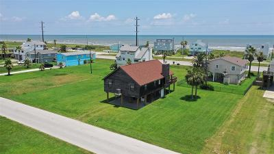 Galveston Single Family Home For Sale: 21921 Zachary