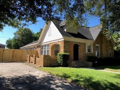 Houston Single Family Home For Sale: 2302 Wichita Street