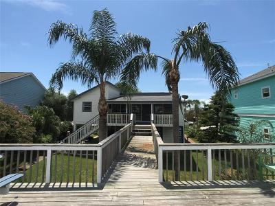 Galveston Single Family Home For Sale: 12812 E Madrid