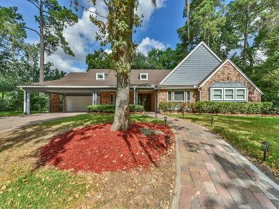 Houston Single Family Home For Sale: 102 Big Hollow Lane