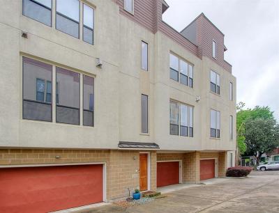 Houston Condo/Townhouse For Sale: 2105 Woodhead Street